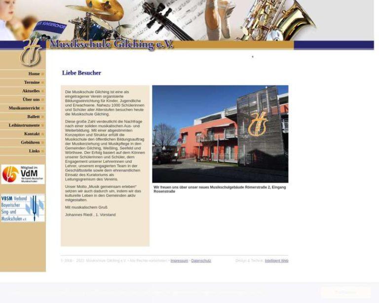 Screenshot (middle) http://www.musikschule-gilching.de
