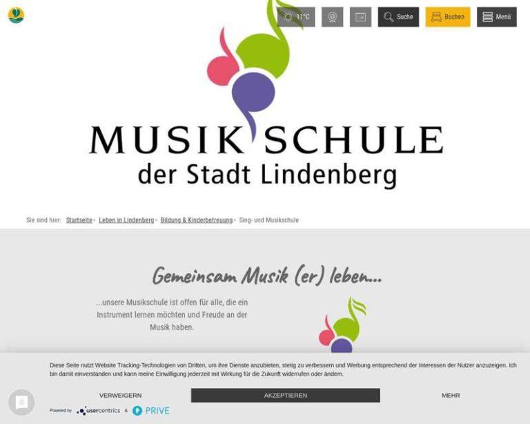 Screenshot (middle) http://www.musikschule-lindenberg.de