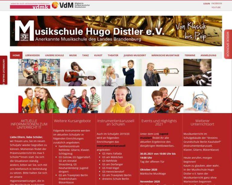 Screenshot (middle) http://www.musikschule-hugo-distler.de