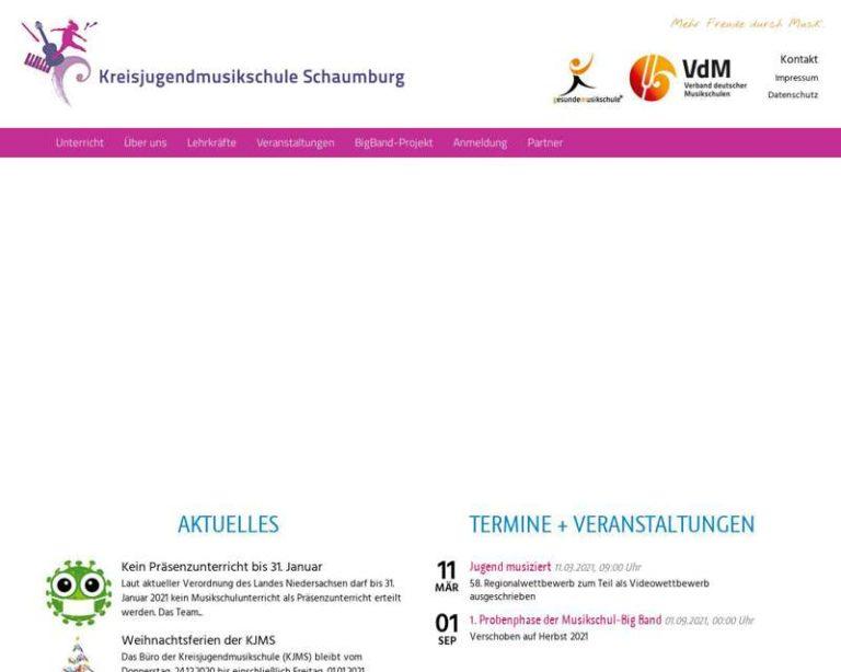 Screenshot (middle) https://www.kjms-schaumburg.de