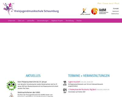 Screenshot (small) https://www.kjms-schaumburg.de