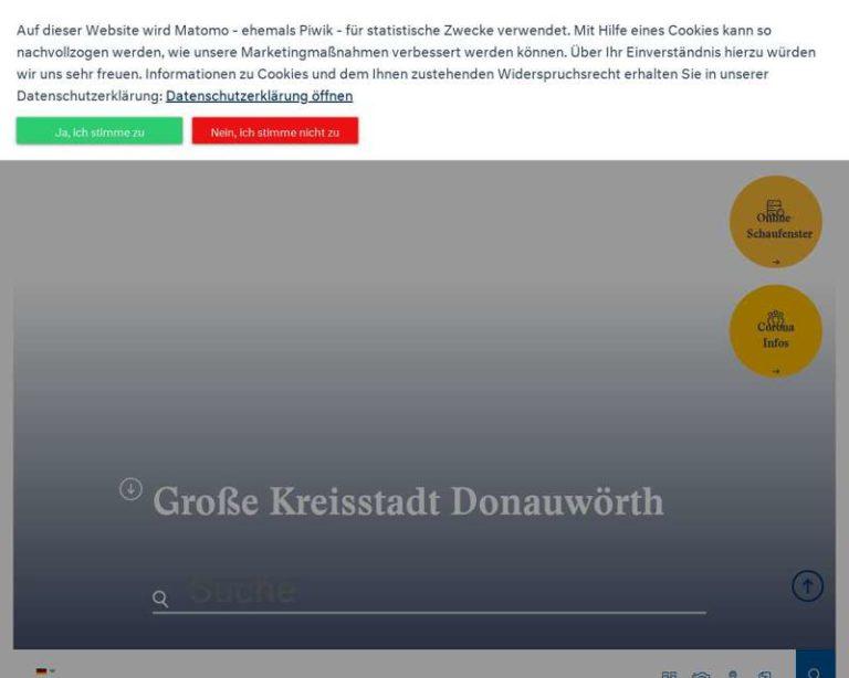Screenshot (middle) http://www.donauwoerth.de
