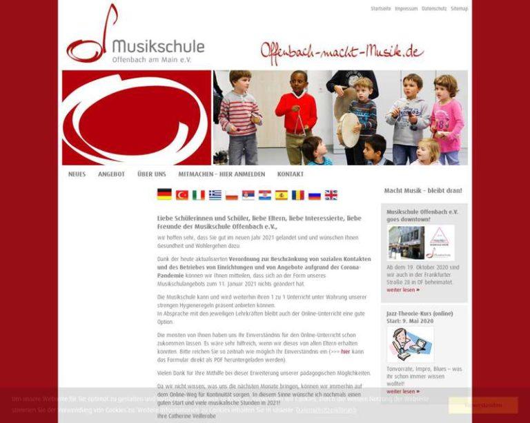 Screenshot (middle) http://www.offenbach-macht-musik.de