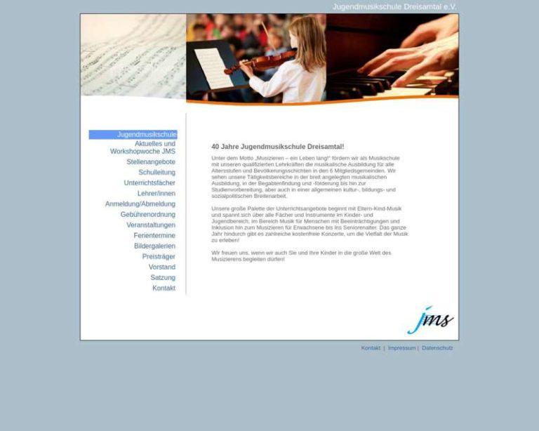 Screenshot (middle) http://www.jugendmusikschule-dreisamtal.de