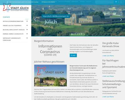 Screenshot (small) http://www.juelich.de