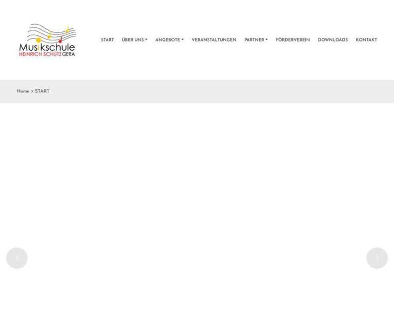 Screenshot (middle) http://www.musikschule-heinrich-schuetz.de
