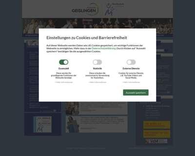 Screenshot (small) http://www.musikschule-geislingen.de