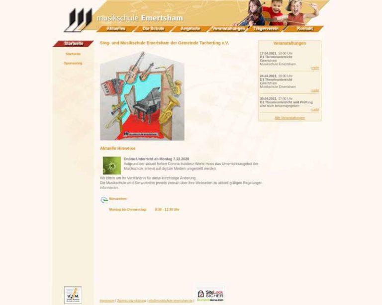 Screenshot (middle) http://www.musikschule-emertsham.de