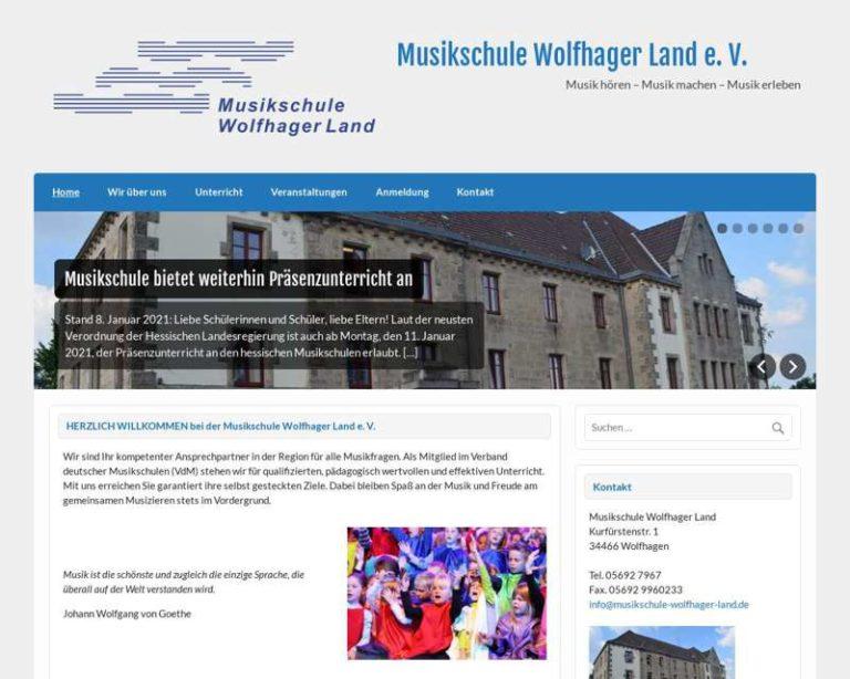 Screenshot (middle) http://www.musikschule-wolfhager-land.de