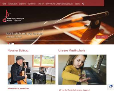 Screenshot (small) http://www.musikschule-oberkirch.de