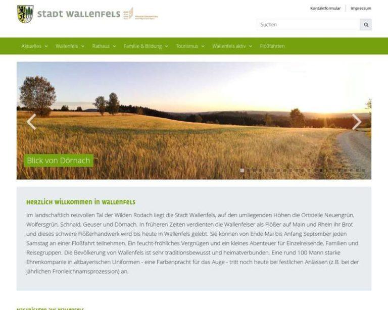Screenshot (middle) http://www.wallenfels.de
