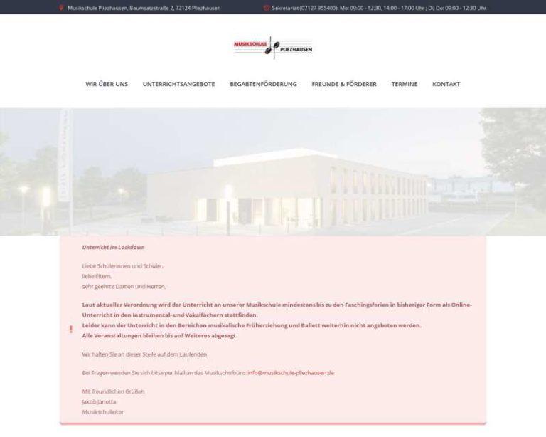 Screenshot (middle) http://www.musikschule-pliezhausen.de
