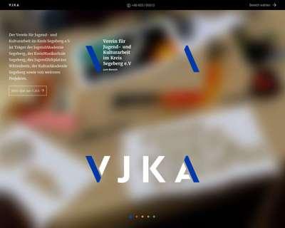 Screenshot (small) http://www.vjka.de