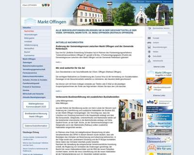 Screenshot (small) http://www.offingen.de