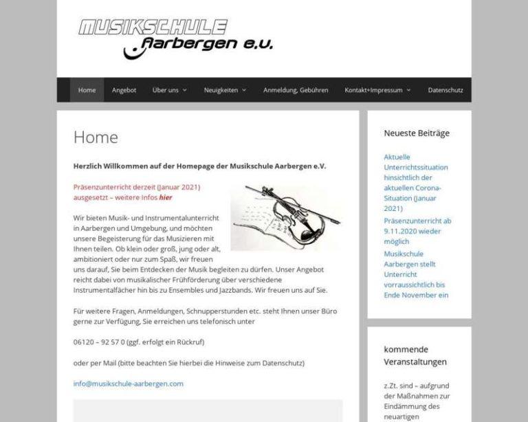 Screenshot (middle) http://www.musikschule-aarbergen.com