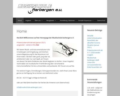 Screenshot (small) http://www.musikschule-aarbergen.com