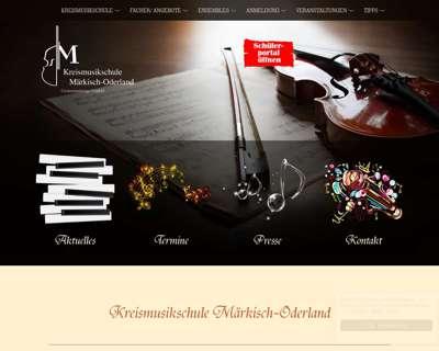 Screenshot (small) http://www.kreismusikschule-mol.de