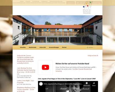 Screenshot (small) http://www.musikschule-ismaning.de