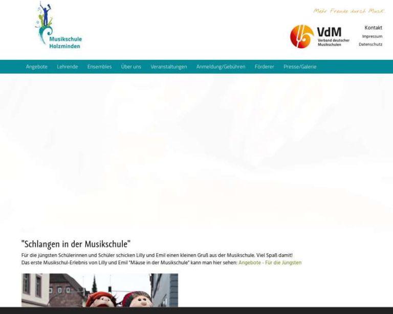 Screenshot (middle) http://www.musikschule-holzminden.de