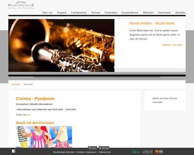 Screenshot (small) http://www.musikschule-volmetal.de