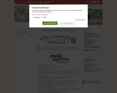 Screenshot (small) http://www.vgziemetshausen.de/verzeichnis/objekt.php?mandat=96757