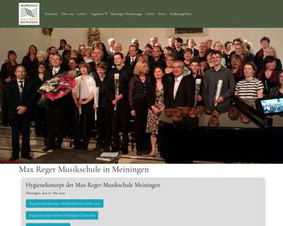 Screenshot (small) http://www.max-reger-musikschule.de