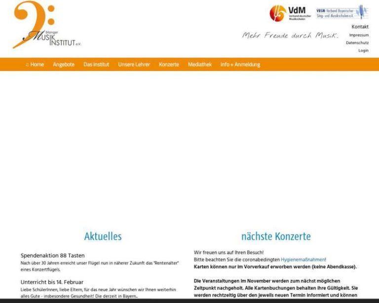 Screenshot (middle) http://www.emi-erlangen.de