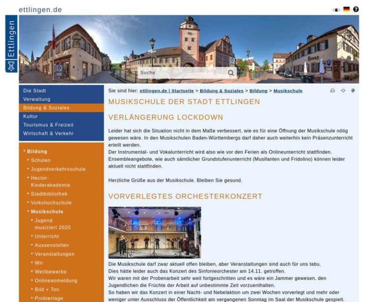 Screenshot (middle) http://www.musikschule-ettlingen.de