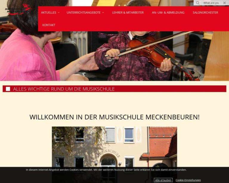 Screenshot (middle) http://www.musikschulemeckenbeuren.de