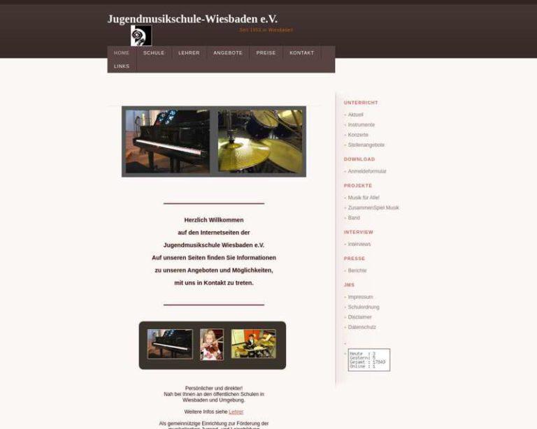 Screenshot (middle) http://www.jugendmusikschule-wiesbaden.de