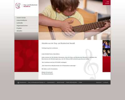 Screenshot (small) http://www.musikschule-neusaess.de
