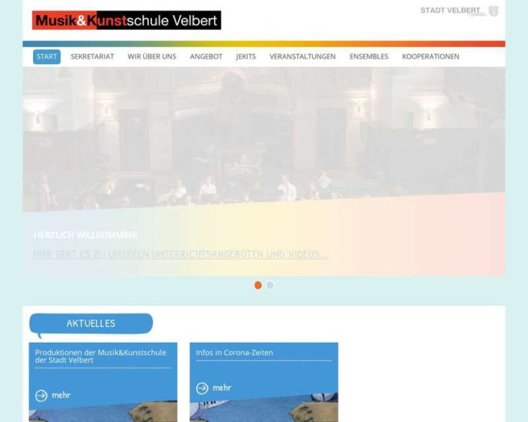 Screenshot (middle) http://www.musikundkunstschule-velbert.de