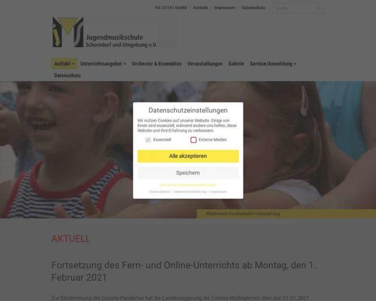 Screenshot (middle) http://www.jms-schorndorf.de