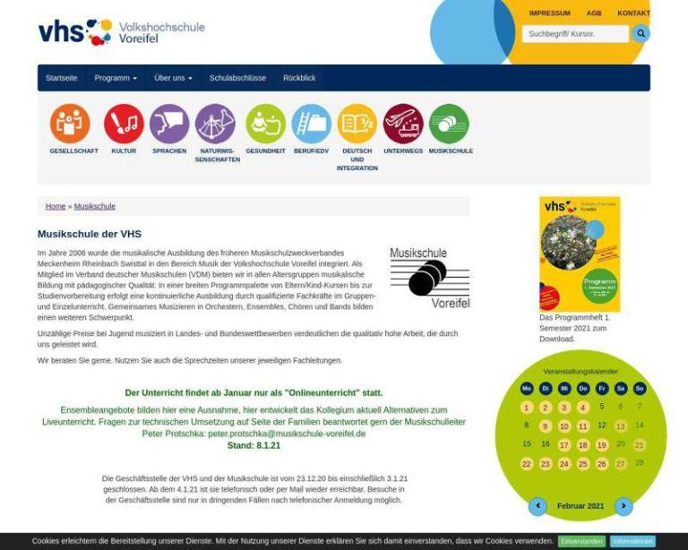 Screenshot (middle) http://www.musikschule-rheinbach.de