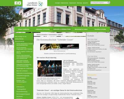 Screenshot (small) http://www.lkee.de/Kreismusikschule