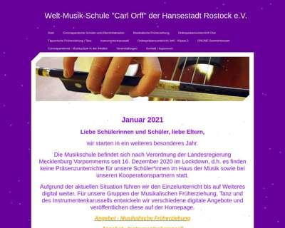 Screenshot (small) http://www.orff-musikschule.de