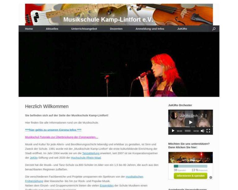 Screenshot (middle) http://www.musikschule-kamp-lintfort.de