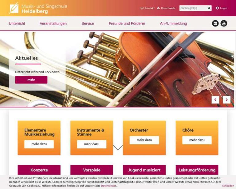 Screenshot (middle) http://www.heidelberg.de/musikschule