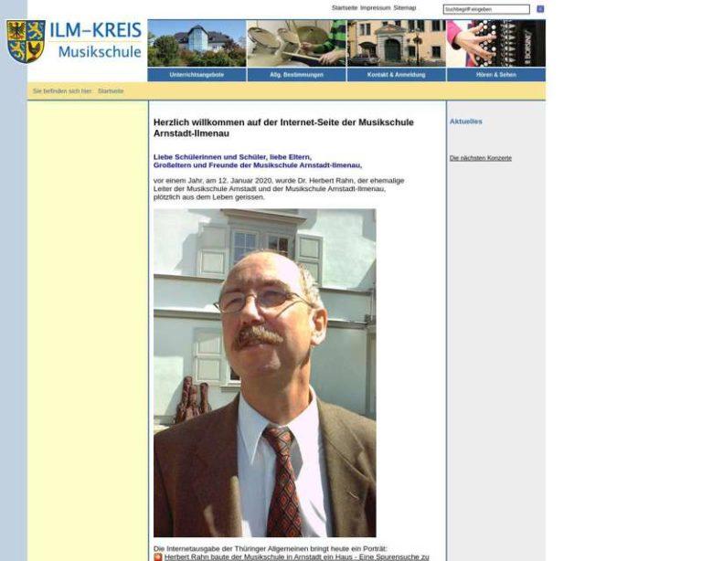Screenshot (middle) http://ms.ilm-kreis.de