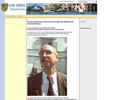 Screenshot (small) http://ms.ilm-kreis.de