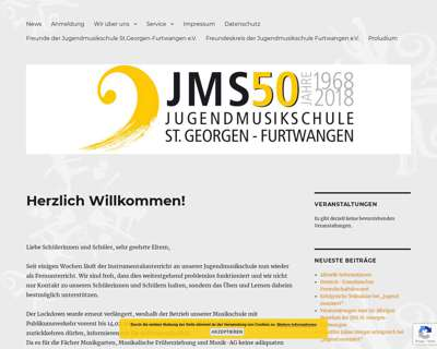 Screenshot (small) http://www.jugendmusikschulen.de