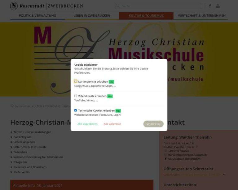 Screenshot (middle) http://www.zweibruecken.de/musikschule
