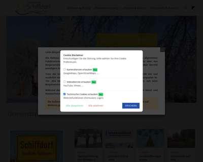 Screenshot (small) http://www.schiffdorf.de
