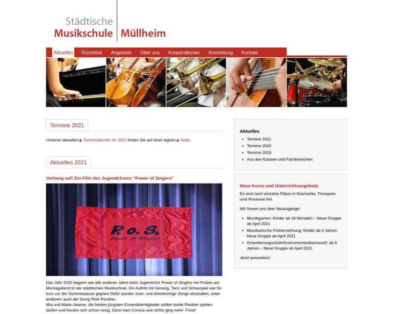 Screenshot (middle) http://www.musikschule-muellheim.de