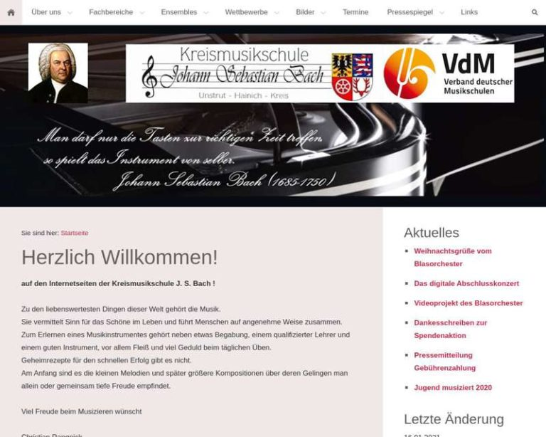 Screenshot (middle) http://www.kreismusikschule-jsb.de