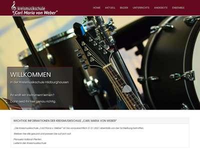 Screenshot (small) http://www.musikschule-hildburghausen.de