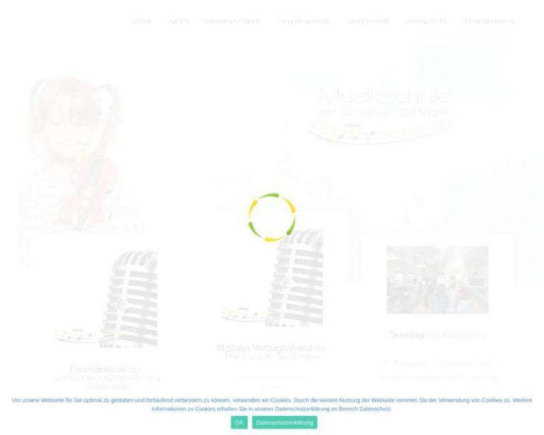 Screenshot (middle) http://www.musikschule-steisslingen.de