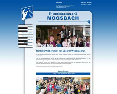 Screenshot (small) http://www.musikschule-moosbach.de