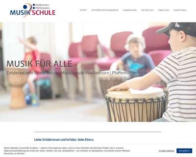 Screenshot (small) http://www.musikschule-weissenhorn.de