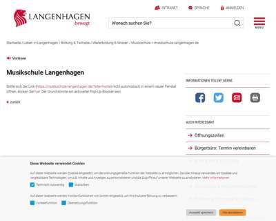 Screenshot (small) http://www.langenhagen.de/musikschule
